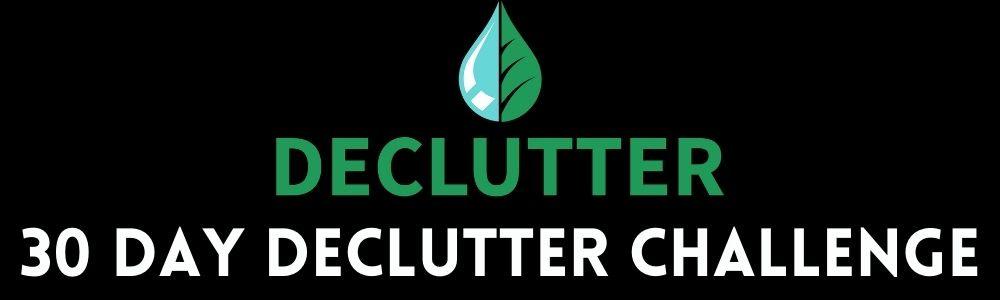 30 Day Declutter Challenge Banner