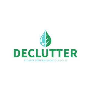 Declutter logo with clear background
